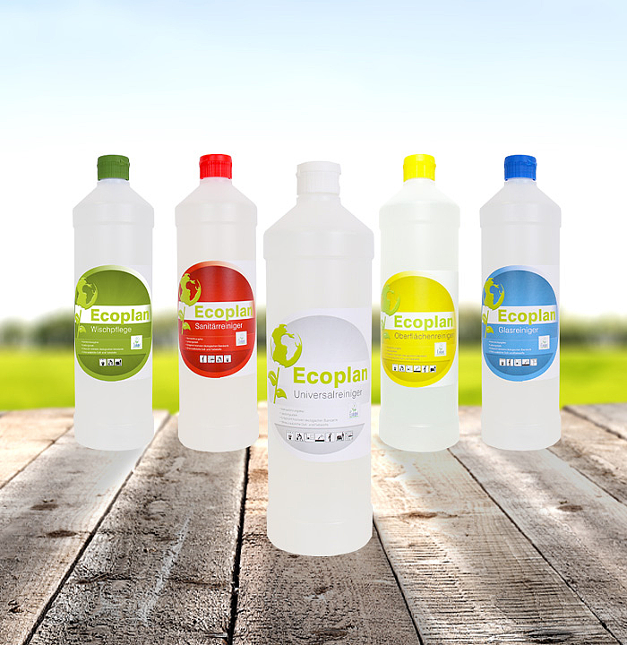 Ecological cleaning agents